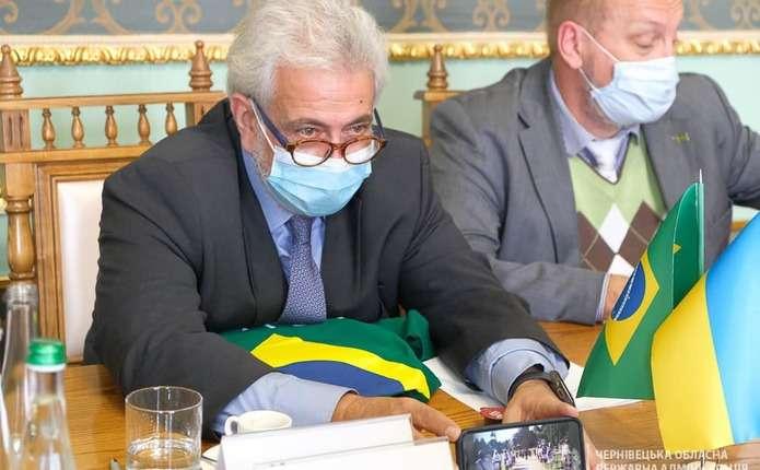 Буковину відвідав Надзвичайний і Повноважний Посол Бразилії